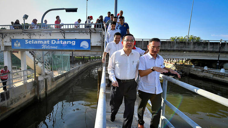 Repair of barrage at Malacca river mouth to be carried out soon