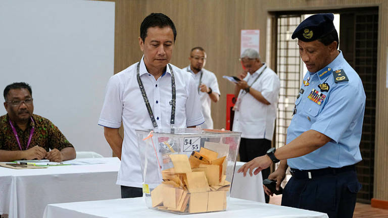Early voting completed in Rantau by-election