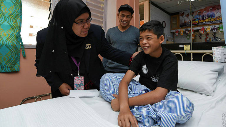 Malaysian 'Mowgli' discharged from hospital