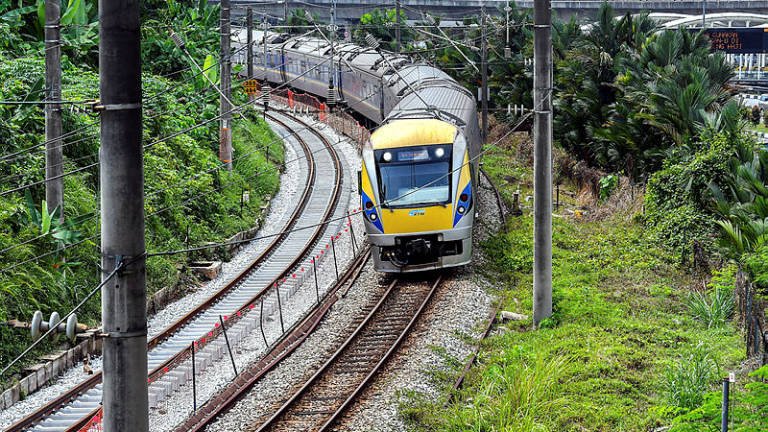 Don't go looking for trouble, KTMB tells people trespassing railway tracks