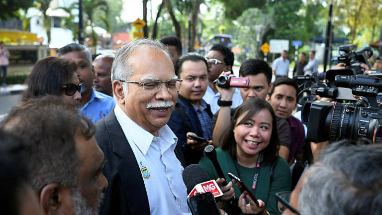 Ramasamy finishes recording statement at Bukit Aman