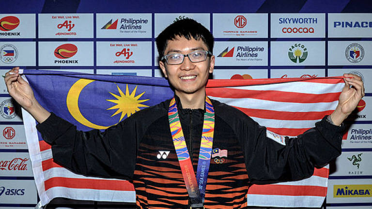 SEA Games: Yeoh bags first gold for M'sia