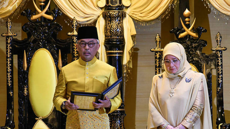 Sultan Abdullah ascends throne today as new Agong