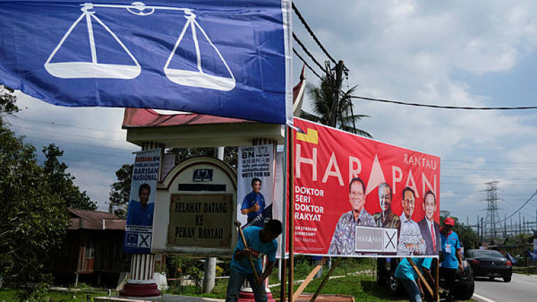 National issues dominate Rantau by-election campaign: Analyst