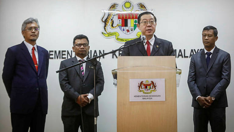 Govt will honour 1MDB bonds, says Guan Eng