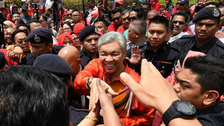 Zahid Hamidi faces 45 charges of CBT, bribery, money-laundering