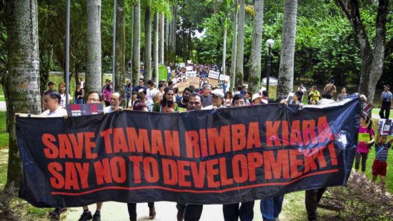 TTDI residents stage protests against development in TRK