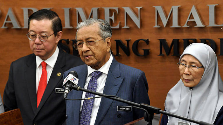 Mahathir: Malaysia's financial position still strong despite debt issues