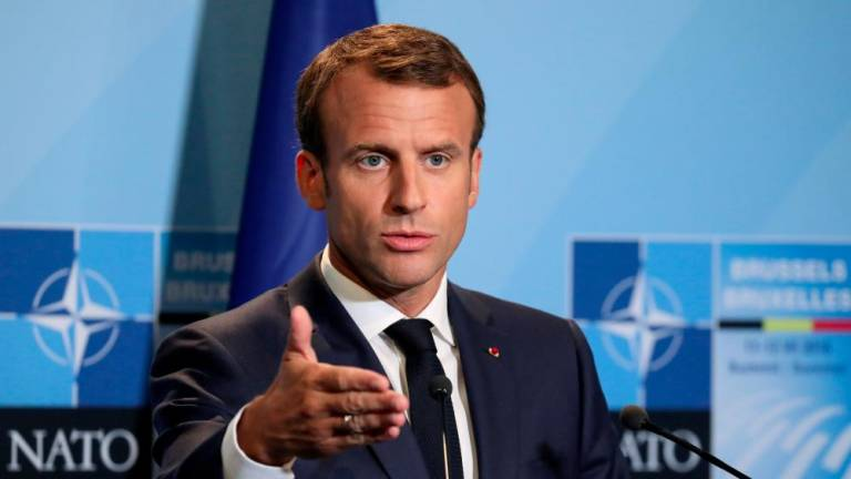Nato allies clash after Macron says alliance experiencing 'brain death'