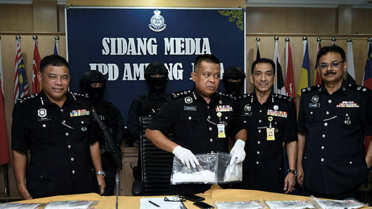 Drug mules detained while preparing to smuggle RM8.5m of syabu