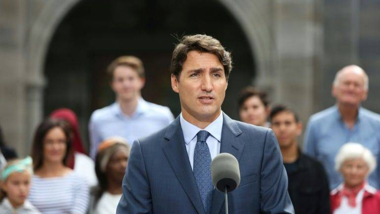 Trudeau vows tax on foreign speculators if reelected Canadian PM