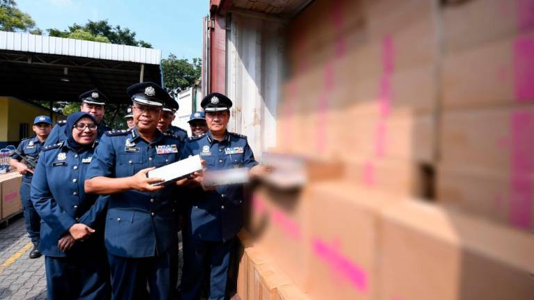 Customs Dept seizes almost 20 million cigarettes in Port Klang this month