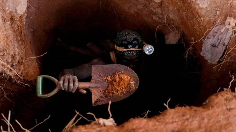 Man crushed to death by iron ore washing machine