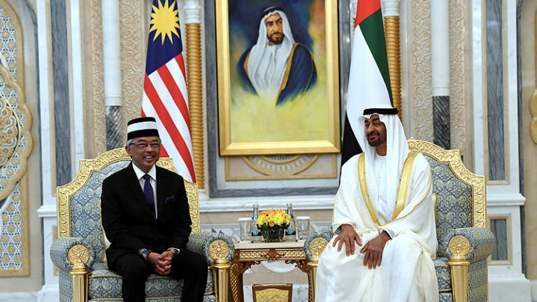 Malaysia-UAE ties given a boost with Agong's special visit