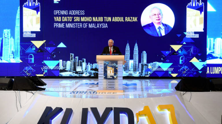 Need to continue creating opportunities for nation's youth: Najib (Updated)