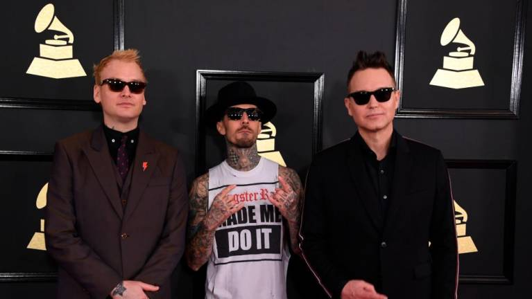 Blink-182 recorded over 40 songs for new LP