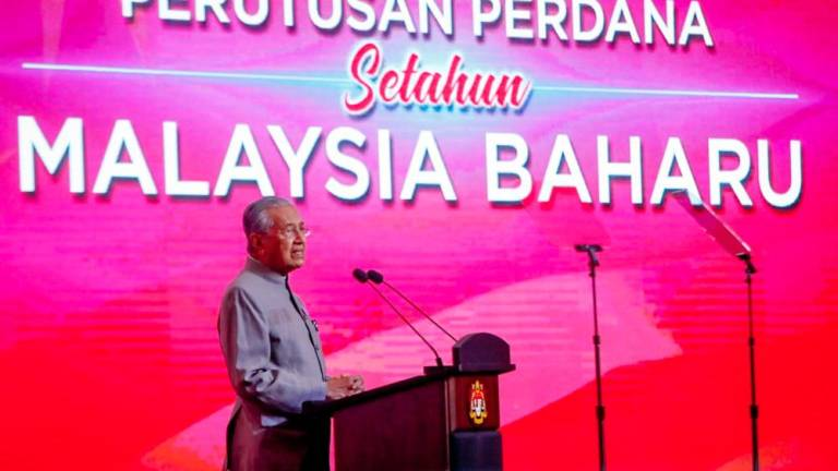 Almost 40% of PH pledges fulfilled: Mahathir