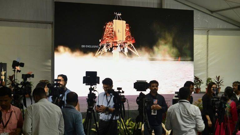 India locates missing Moon lander