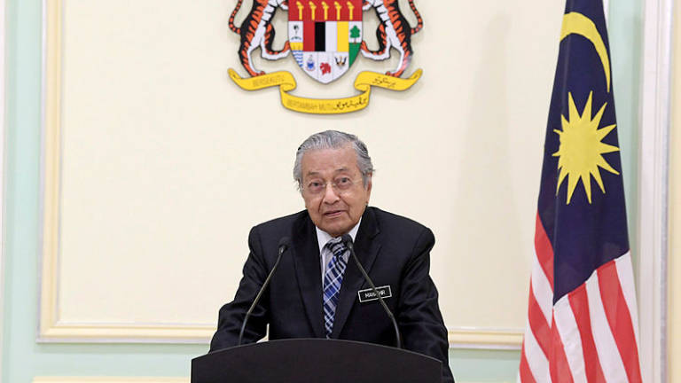 Malaysia is only a developed nation if it resists corruption: Mahathir