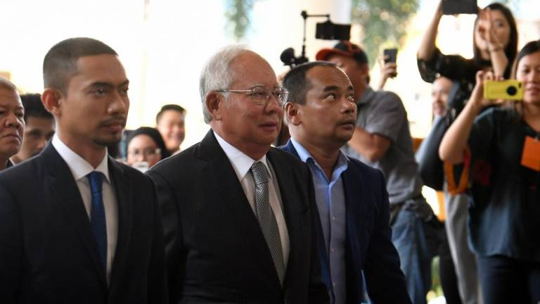 Four Ambank accounts belonging to Najib taken for probe by BNM