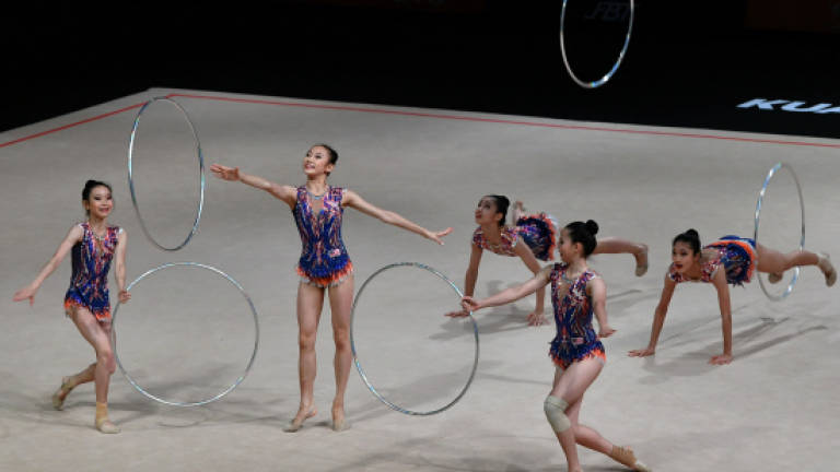 Malaysia clean sweep all eight gold medals in Rhythmic Gymnastic