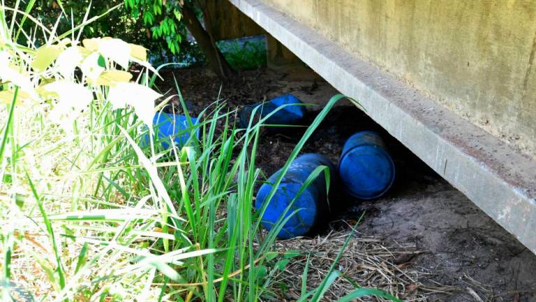Shock over discovery of blue barrels in Taman Tanjung Putri Resort