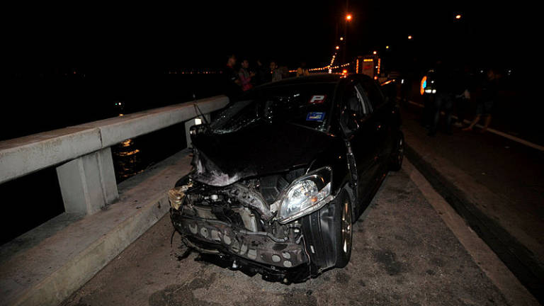 Penang bridge crash: Police to record statement from Vios driver