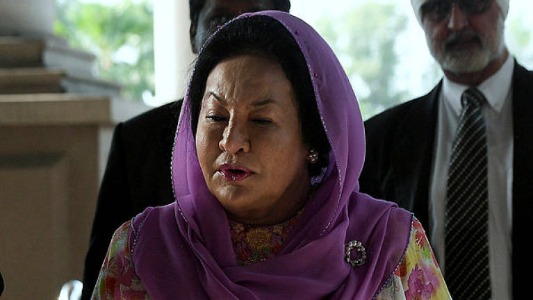 Prosecution wants joint hearing of Rizal's corruption and Rosmah's money laundering cases
