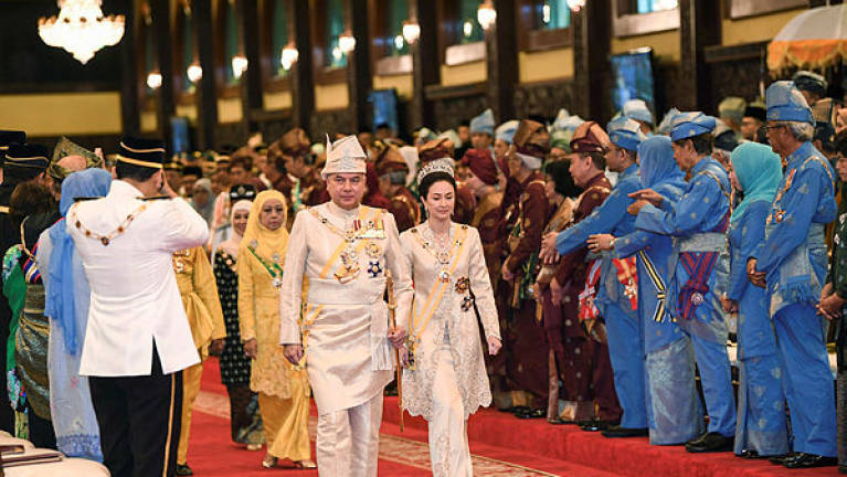 Sultan Nazrin confers state awards to 241 recipients