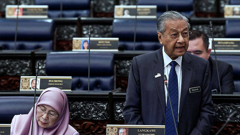 PH govt restoring Malaysia's image as nation of integrity: Mahathir