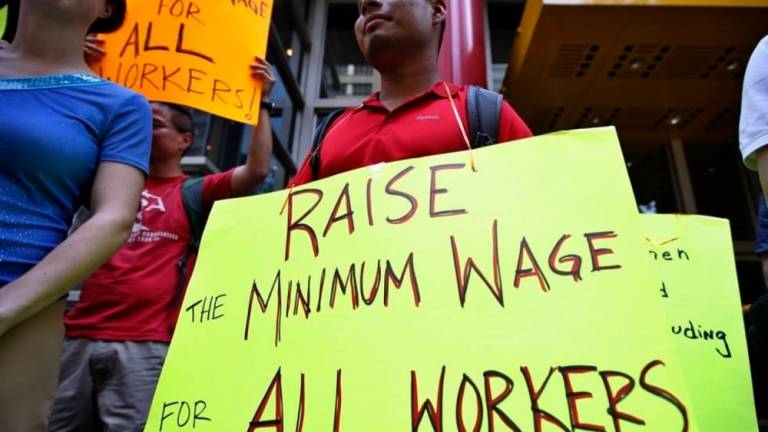 Coalition to hold rally demanding increase in minimum wage on May 1