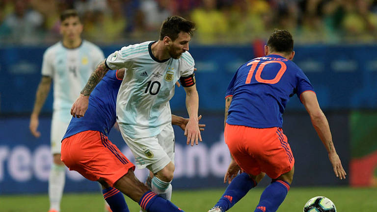 Image result for Messi 'bitter' as Colombia stun Argentina