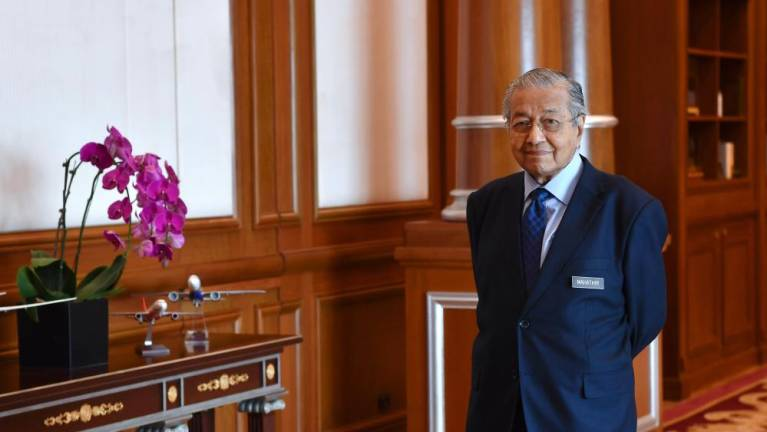 Meeting did not discuss transition of power: Dr Mahathir