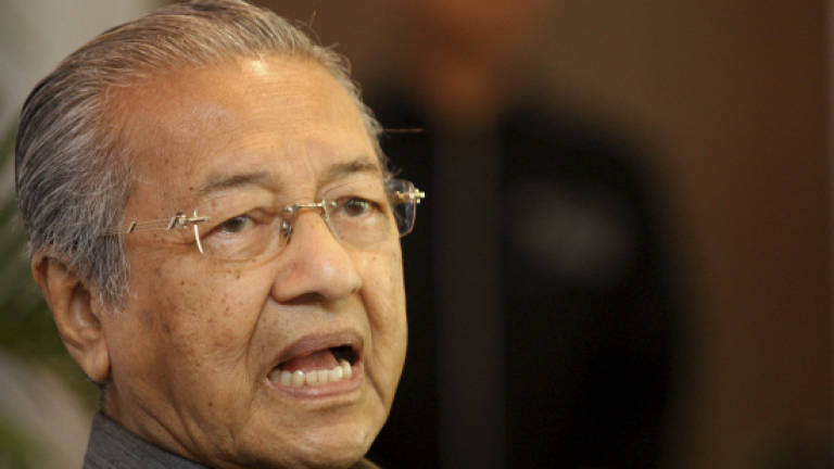 Tun M: A council of elders should guide the prime minister in leading the country