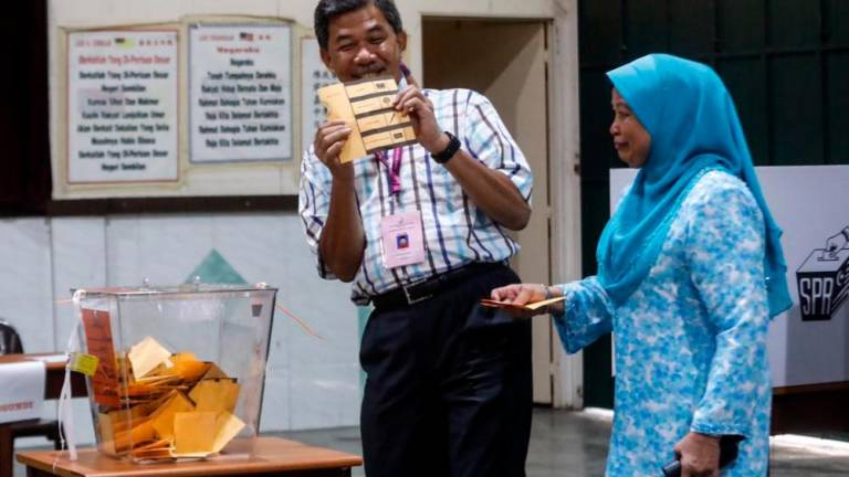 Tok Mat praises EC for improvements made to voting streams