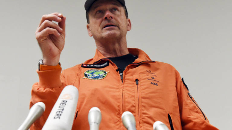 Solar Impulse touches down on unscheduled Japan stop