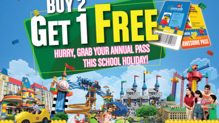 Legoland M'sia launches new annual pass deal for the ...
