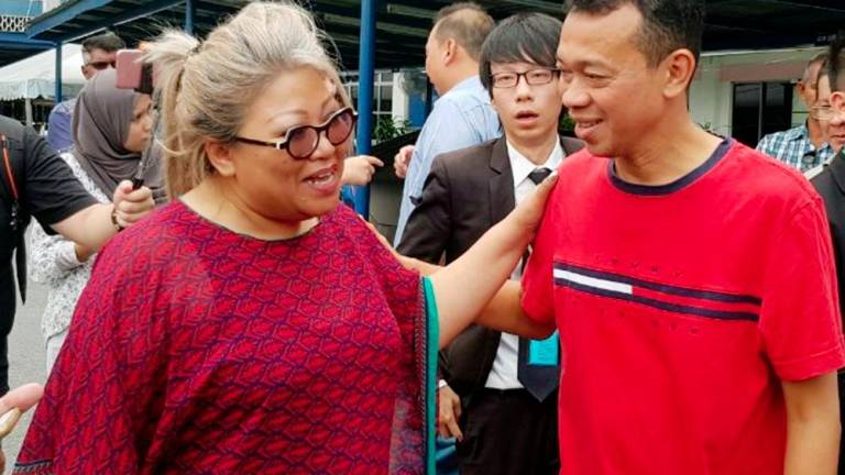 Siti Kassim will not be charged for middle-finger gesture