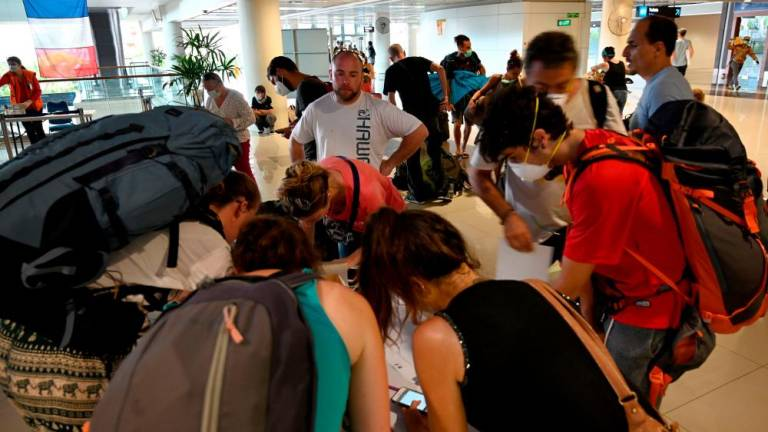 European tourists evacuated from Bali after flights cancelled