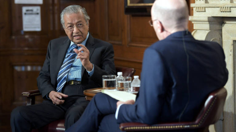 Malaysia resorting to 'private efforts' to bring home Jho Low: Mahathir