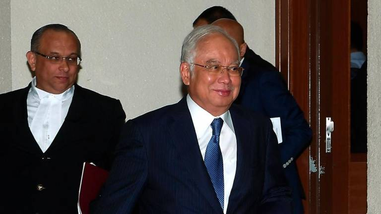Najib wants to strike out his three additional RM27m money laundering charges