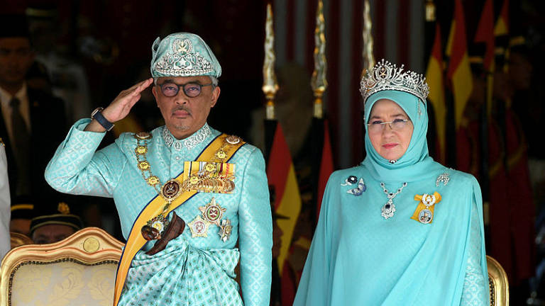 King pledges to carry on Sultan Ahmad Shah's legacy