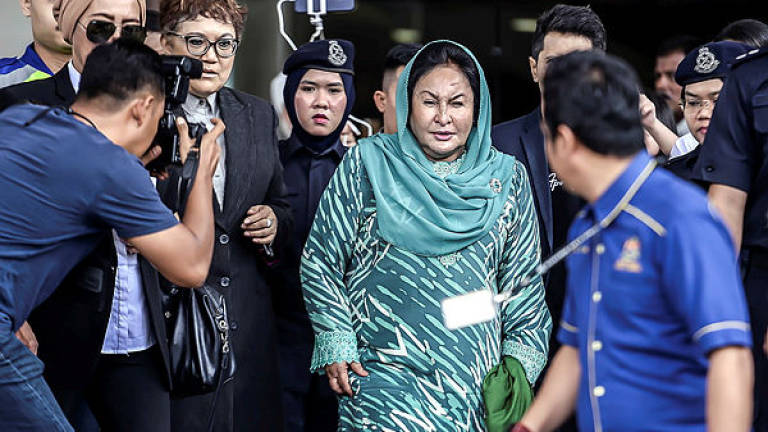 May 2 hearing for application to move Rosmah's corruption case
