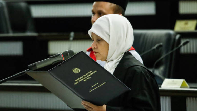 Tan Sri Zaharah Ibrahim is new Chief Judge of Malaya
