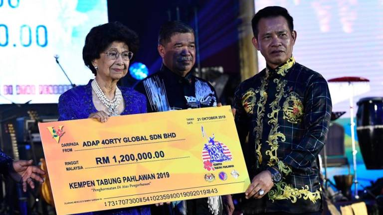 Warriors Fund collection exceeds expectations: Mohamad Sabu