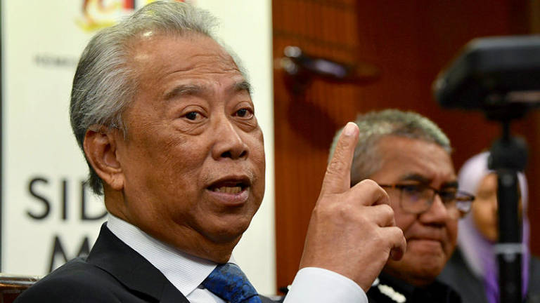 Police have information on masterminds behind second-day riots: Muhyiddin