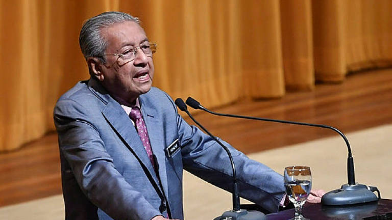 Malaysia can recover from past administrative, financial problems in three years: Mahathir