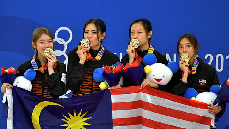 SEA Games: Malaysia net second gold in ice skating