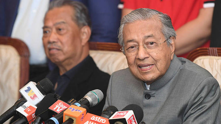 Najib's trial: I am shocked that he is shocked, says Mahathir