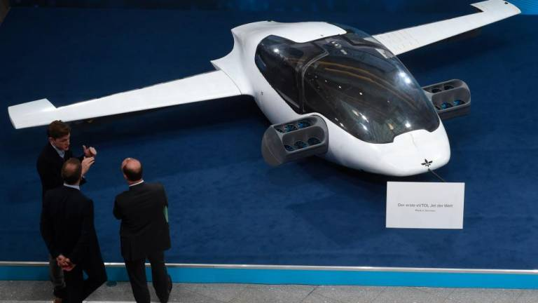 German startup to offer electric air taxis 'by 2025'